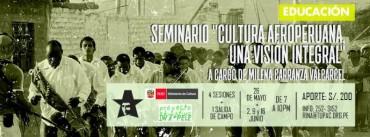 Seminario de cultura Afroperuana