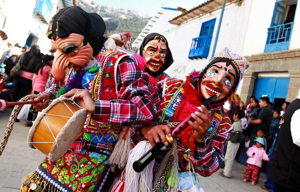 Taller de máscaras de Paucartambo