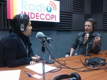 Feria Tupac en Radio Indecopi