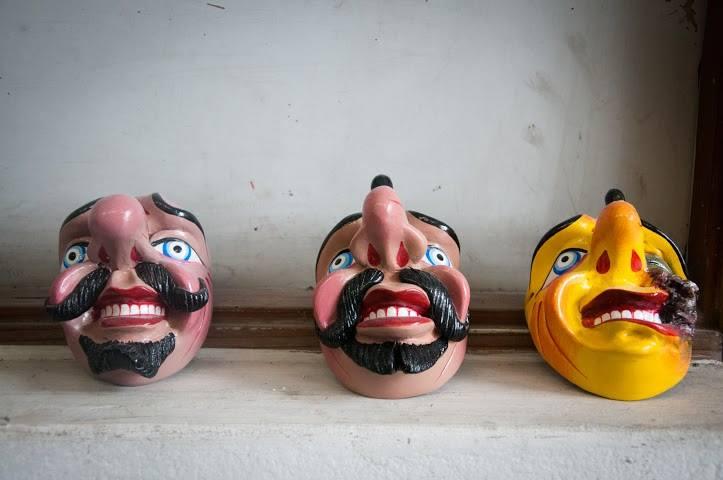 Taller Máscaras de Paucartambo