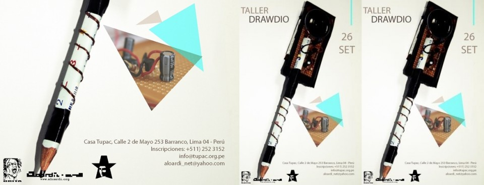 Taller Drawdio a cargo de Gabriel Castillo
