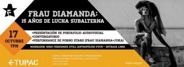 Frau Diamanda: 15 años de lucha subalterna