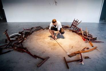 Artista mexicano Omar Barquet en Tupac
