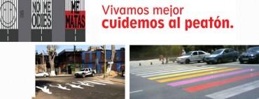 Cebras para peatones seguros