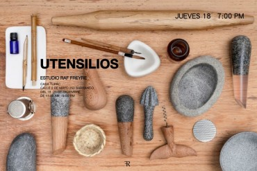 """Utensilios"" Estudio Abierto de Rafael Freyre"