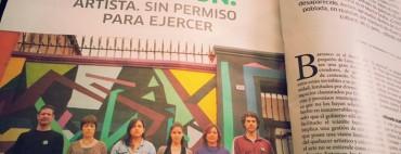 Red de Artistas Barranquinos defendiendo el arte y la cultura